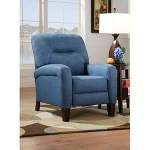 Transitional Power Plus High-Leg Recliner