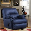 Southern Motion Recliners Branson Lay-Flat Recliner - Recliner Shown May Not Represent Exact Features Indicated