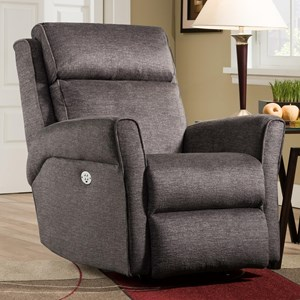 Belfort Motion Recliners Radiate Rocker Recliner with Power Headrest