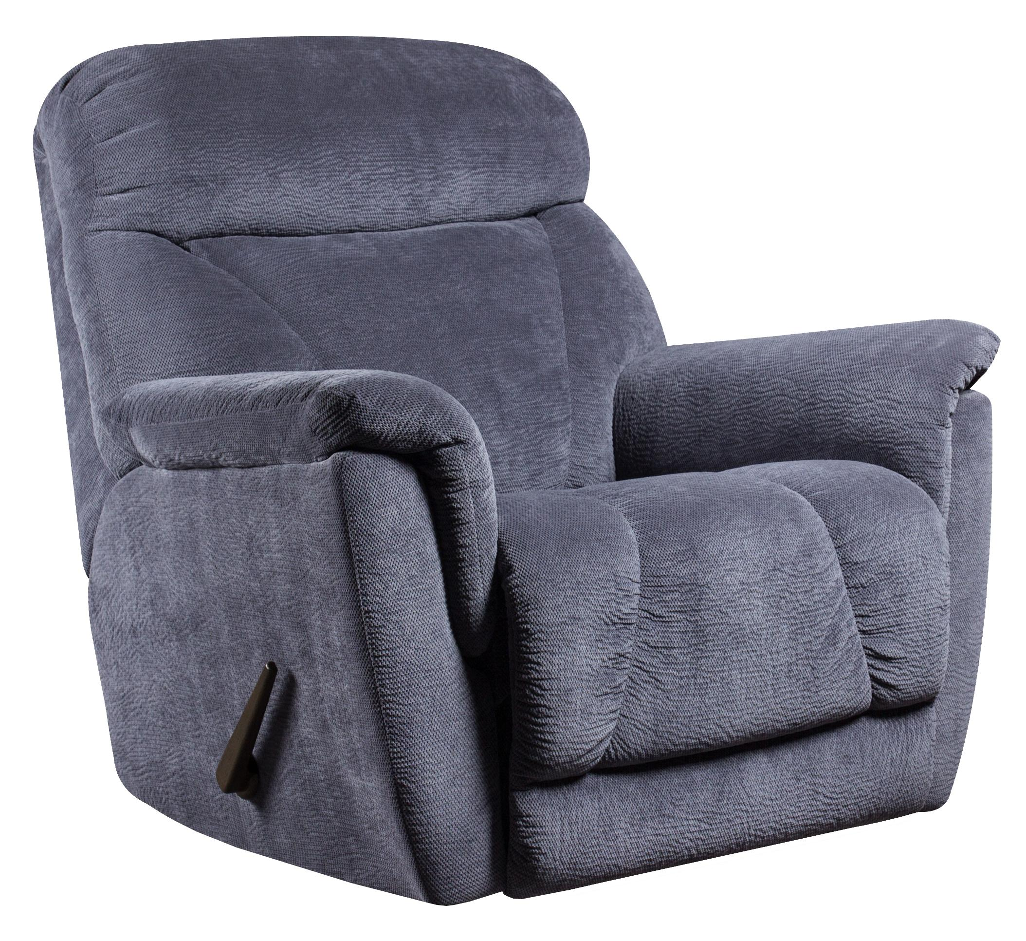 Southern motion recliners flair rocker recliner with casual contemporary style h l stephens - Stylish rocker recliner ...
