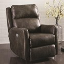 Southern Motion Recliners Top Notch Wall Hugger with Power Headrest - Item Number: 6313P-Brown