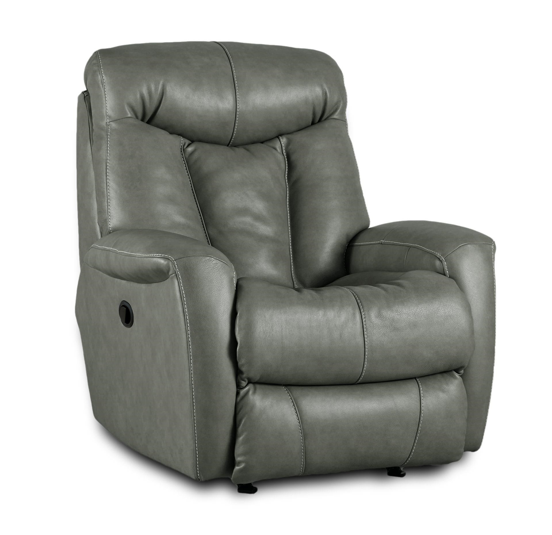 Southern Motion Recliners Regal Leather Rocker Recliner - Item Number 1425-957-60  sc 1 st  Great American Home Store & Southern Motion Recliners Regal Leather Rocker Recliner - Great ... islam-shia.org