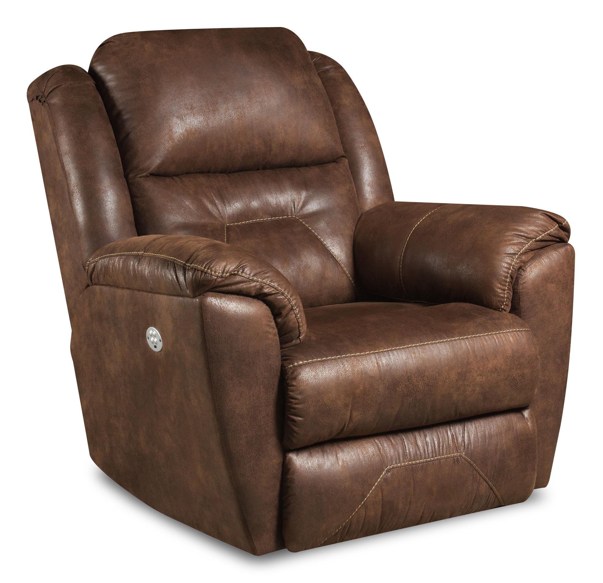 Southern Motion Recliners Pandora Rocker Recliner with Power Headrest - Item Number: 5751P-236-21