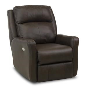Southern Motion Recliners Top Notch Wall Hugger with Power Headrest