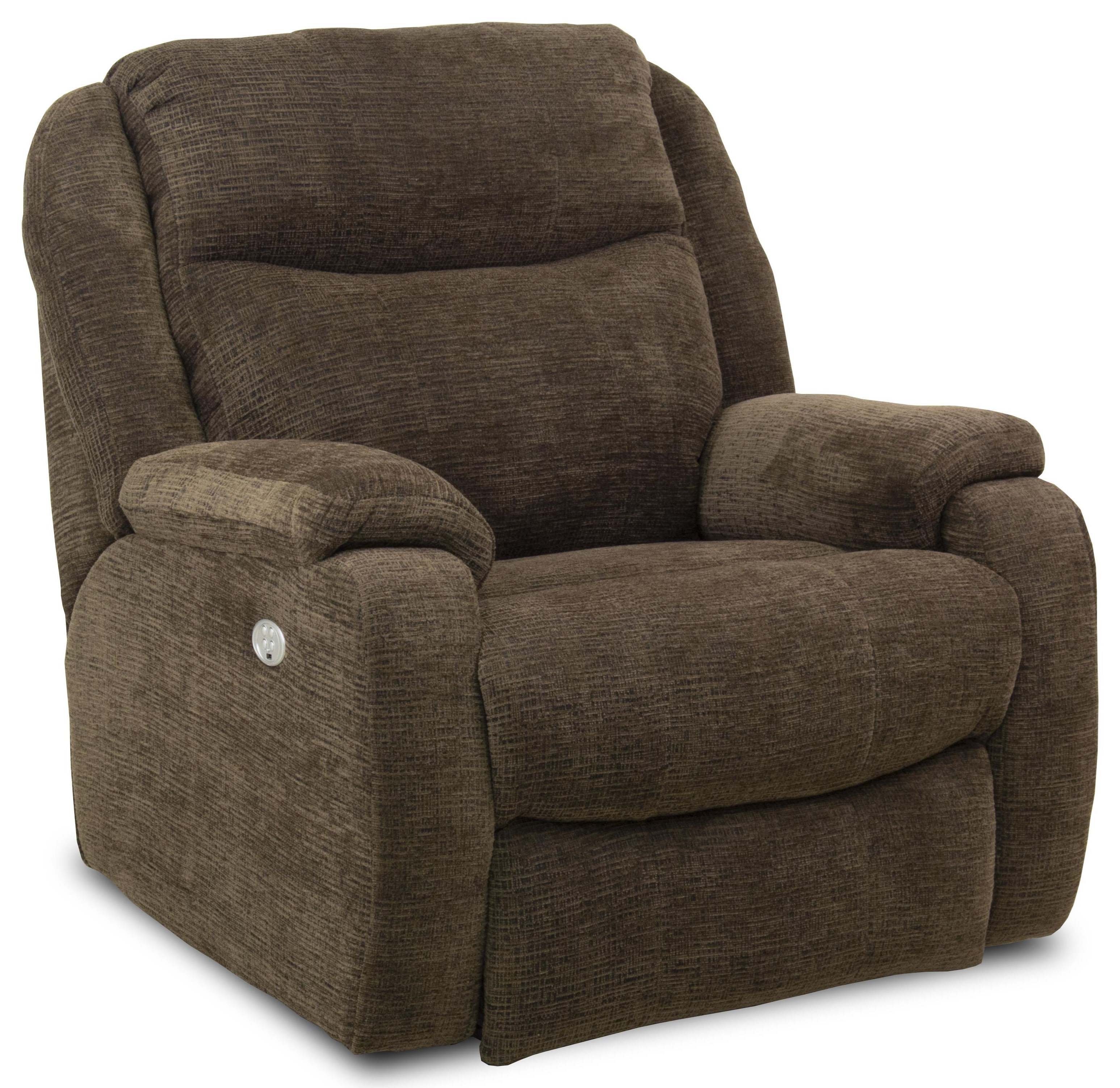 Southern Motion Recliners Hercules Big Man S Power Recliner Ruby
