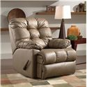 Belfort Motion Recliners Bristol Wall Hugger Recliner with Tufted Seat Back - Recliner Shown May Not Represent Exact Features Indicated