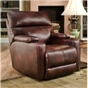 Belfort Motion Recliners Tango Recliner with Contemporary Living Room Style - Recliner Shown May Not Represent Exact Features Indicated