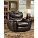 Southern Motion Recliners McLaren Big Man Recliner with Power PLUS - Recliner Shown May Not Represent Exact Features Indicated