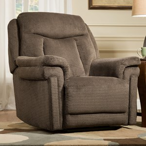 Southern Motion Recliners Masterpiece Power Headrest LayFlat Recliner