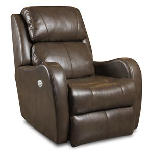 Southern Motion Recliners Siri Lay Flat Recliner with Power Headrest