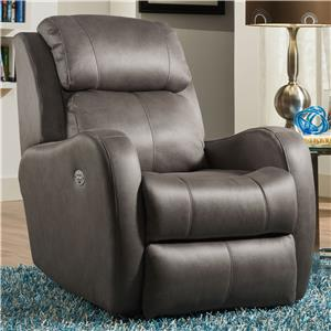 Southern Motion Recliners Siri Rocker Recliner with Power Headrest