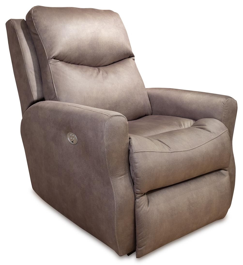 Recliners Fame Power Headrest Wall Hugger Recliner by Design to Recline at Rotmans