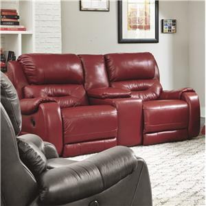 Southern Motion Sting Double Reclining Console Sofa