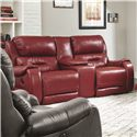 Southern Motion Sting Double Reclining Console Sofa - Item Number: 584-28-905-11