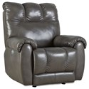 Southern Motion Top Flight Power Headrest Lay Flat Recliner - Item Number: 7146P-906-04