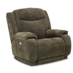 ComfortZone Velocity Rocker Recliner with Power Headrest
