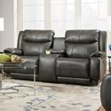 Southern Motion Velocity Power Plus Double Reclining Console Loveseat - Item Number: 875-28PLUS-249-14