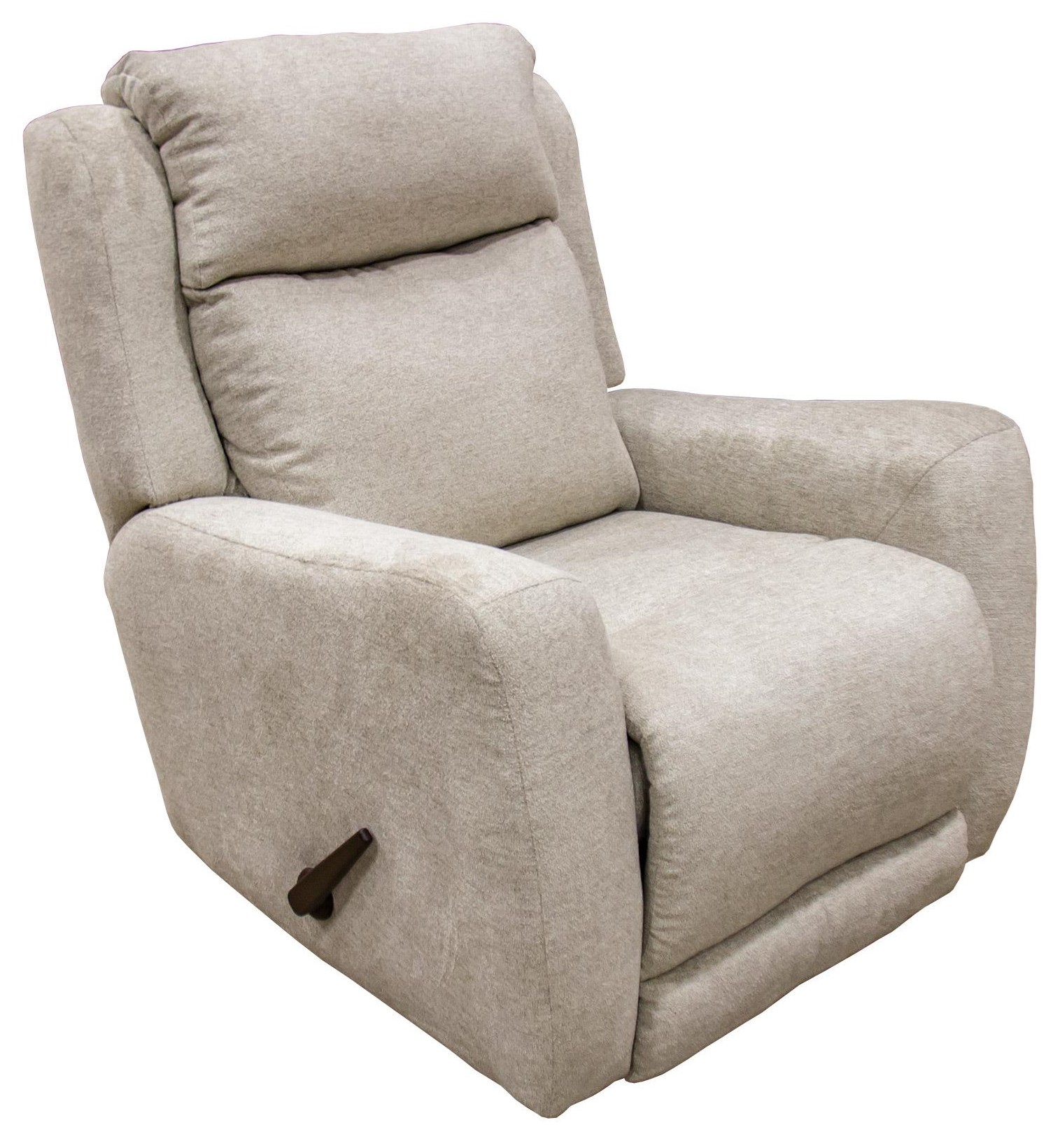 Beige Rocker Recliner