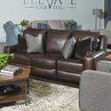 Southern Motion West End Power Headrest Sofa with Pillows - Item Number: 685-62P-970-21