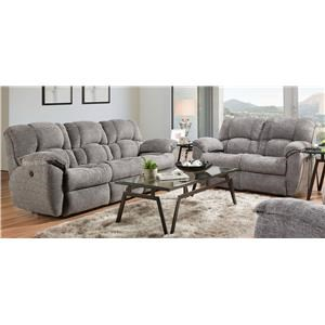 3pc Motion Reclining Set -gray