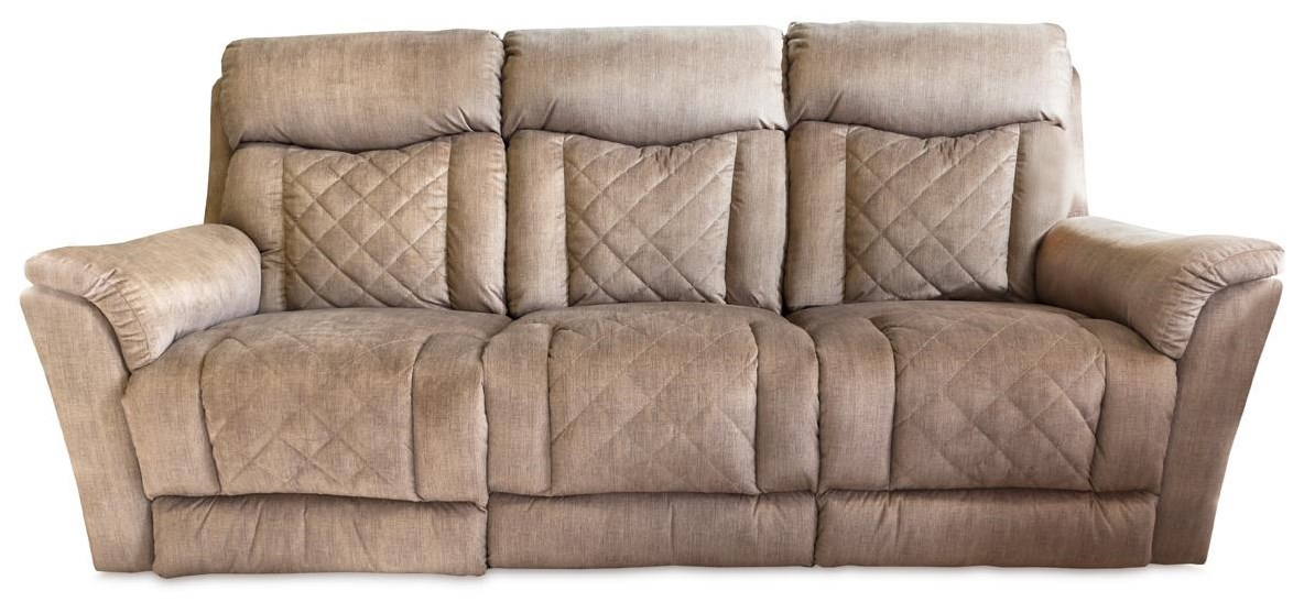 Entourage Power Headrest Double Reclining Sofa by Design to Recline at Rotmans