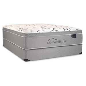 Spring Air Back Supporter - Governor King Euro Top Hybrid Mattress