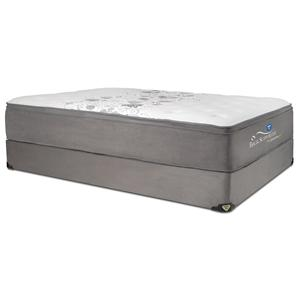 Spring Air Back Supporter - Presidential Twin Plush Hybrid Mattress