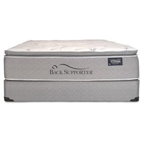 Spring Air Back Supporter Luxuriance Twin Super Pillow Top Mattress Set