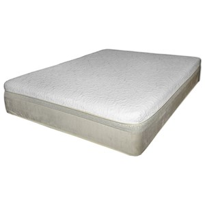 "Spring Air Chattam and Wells Latex Core King 11"" Latex Mattress"