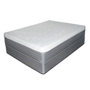 "Spring Air Platinum Gel King 13"" Gel Memory Foam Mattress Set"