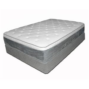 "Spring Air Presidential 858 King 14"" Pillow Top Mattress Set"