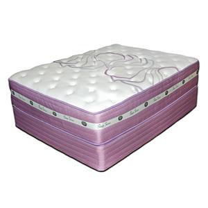 "Spring Air Sleep Sense Purple Full 13"" Firm HyBrid Mattress"