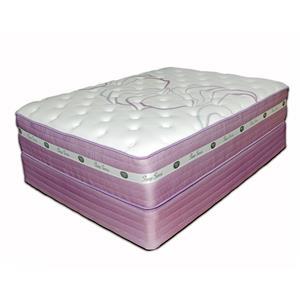"Spring Air Sleep Sense Purple Full 14.5"" Plush Hybrid Mattress"