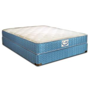 Spring Air Sleep Sense Twin Cushion Plush Mattress Set