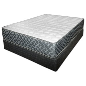 Spring Air Somerset Firm Twin Firm Mattress Set