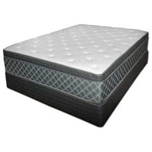 Spring Air Somerset Pillow Top King Plush Pillow Top Mattress Set