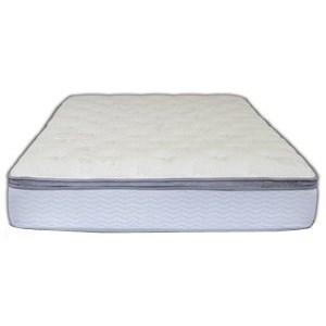 Spring Air SOP Cascade Euro Pillowtop Queen Euro Pillow Top Mattress