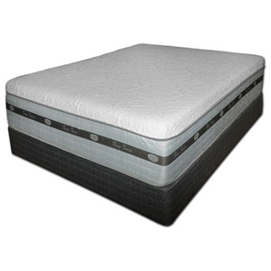 Spring Air SS Hybrid Catalina Twin Cool Gel Hybrid Mattress Set