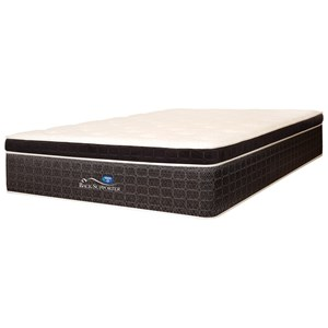 Spring Air Triumph Euro Top Queen Euro Top Coil on Coil Mattress