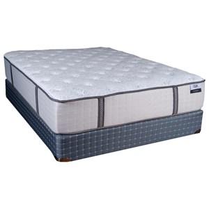 Springwall Mattress Haleakala Queen Cushion Firm Pocketed Coil Matt Set