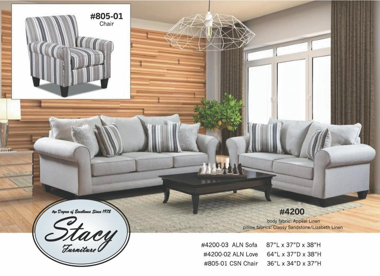 4200 Series Sofa by Stacy Manufacturing at Furniture and ApplianceMart