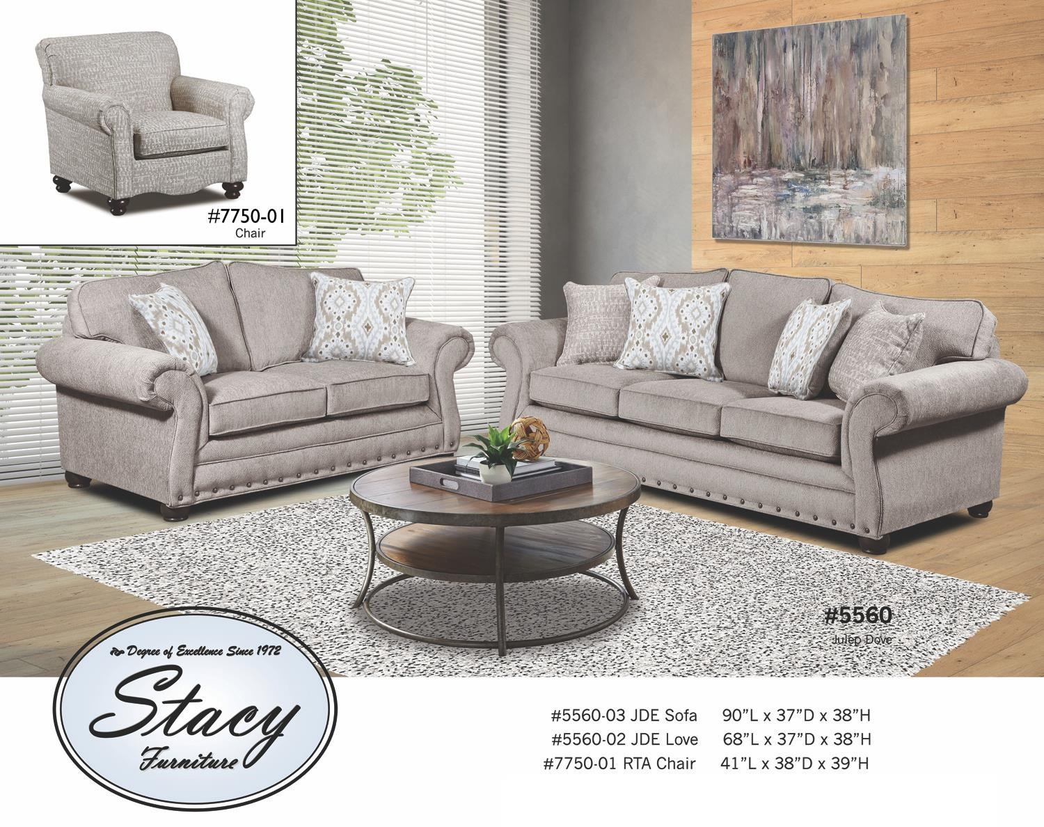 5560 Series Traditional Sofa by Stacy Manufacturing at Furniture and ApplianceMart