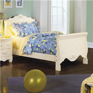 Standard Furniture Diana Twin Sleigh Bed