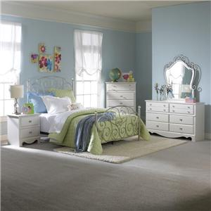 Standard Furniture Spring Rose Spring Rose Twin Bedroom Group *SETS ONLY*