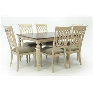 Standard Furniture Antique 7pc Dining