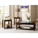 Zenith Richmond Transitional Occasional Table Group with Casters