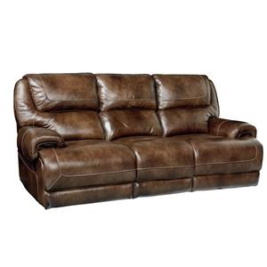 Standard Furniture Chisholm Leather Reclining Sofa