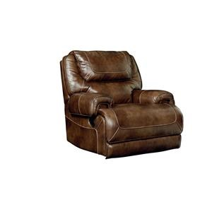Standard Furniture Chisholm Leather Rocker Recliner
