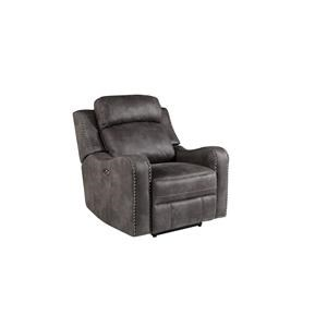 Standard Furniture Bankston Grey Glider Recliner