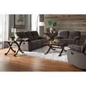 Standard Furniture 418 Reclining Sofa & Loveseat - Item Number: 418-S+L